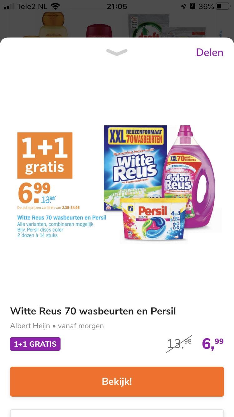 1+1 Witte reus, Persil