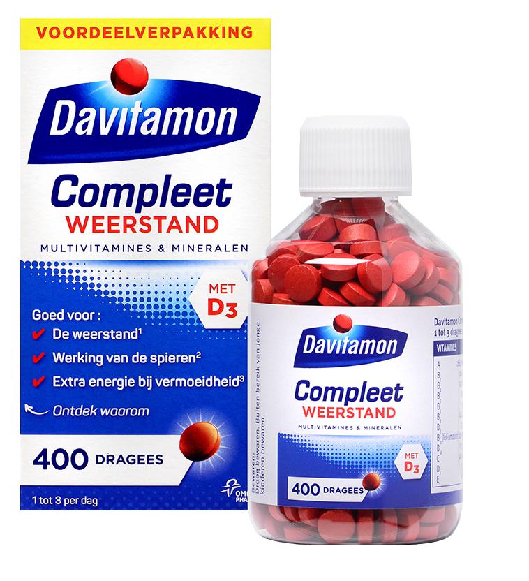 Davitamon Compleet 400 stuks @ Kruidvat nu 1+1 dus 800 stuks