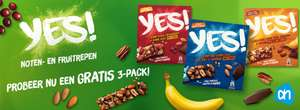 Gratis 3 pack Yes repen bij Albert Heijn (cashback)