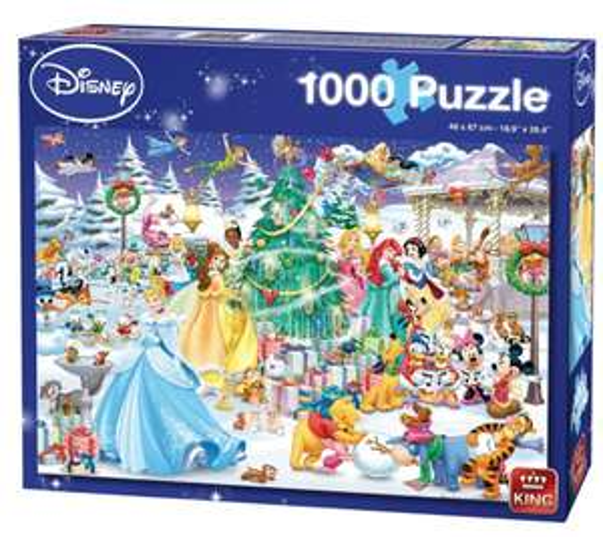 Disney & Disney Princess Puzzel 1000 stukjes voor €3,99 @ trekpleister