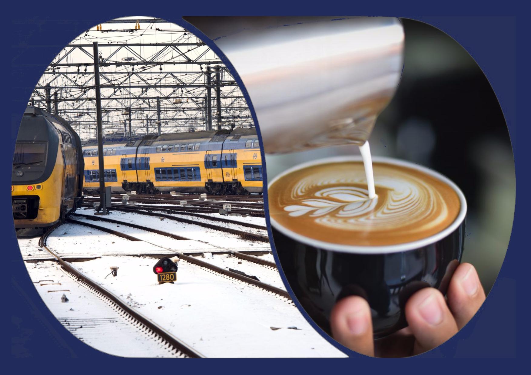 Voor 24 euro 2x een enkele reis + Kopje thee of koffie en tiramisu