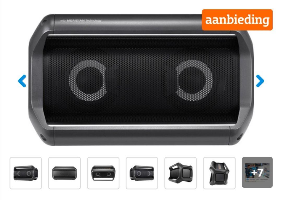 LG Pk5 Bluetooth speaker