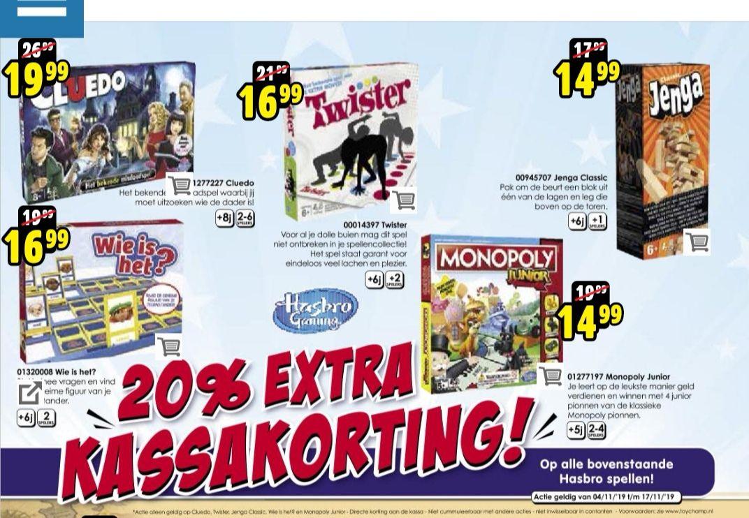 Monopoly junior voor 11,99
