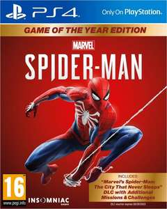 Marvel's Spider-Man - PS4 - Game of the Year edition €29.99
