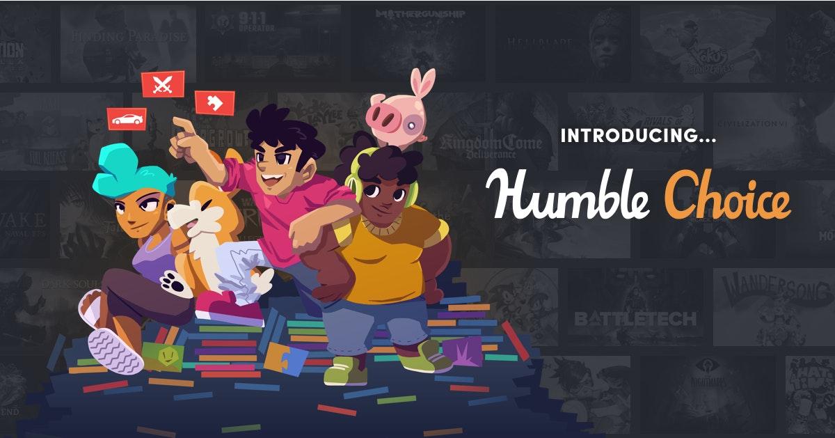 [NIEUWE SERVICE] Steam Games met HUMBLE CHOICE - HOGE KORTING VROEGE VOGELS + GRATIS GAME