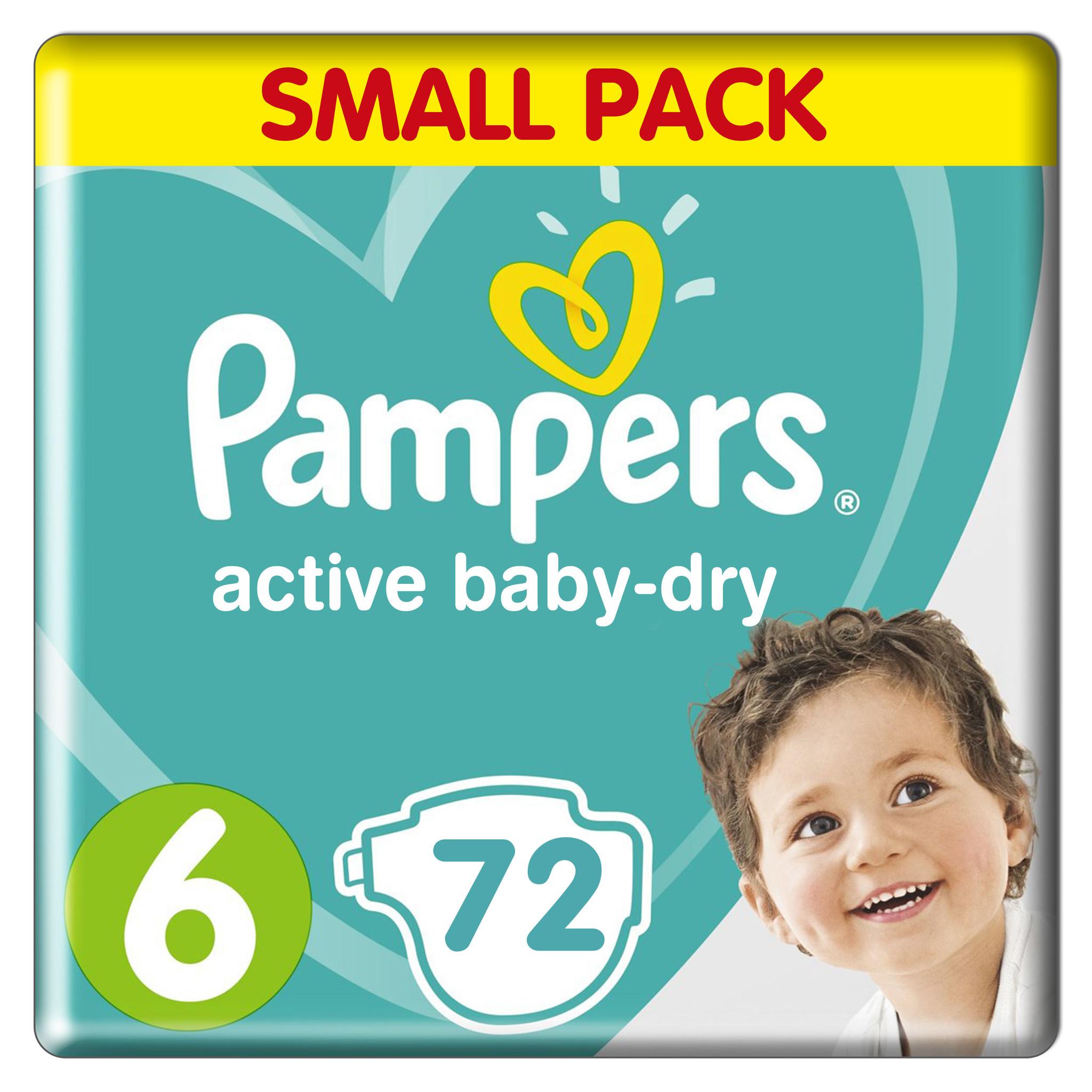 [PRIJSFOUT] Pampers Active Baby Dry Maat 6 Jumbo Pack (72 luiers) voor €0 @ Babydrogist