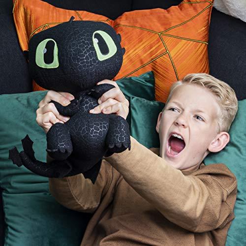 Squeeze & Growl Toothless draak knuffel 25 cm voor €15 @ amazon.de
