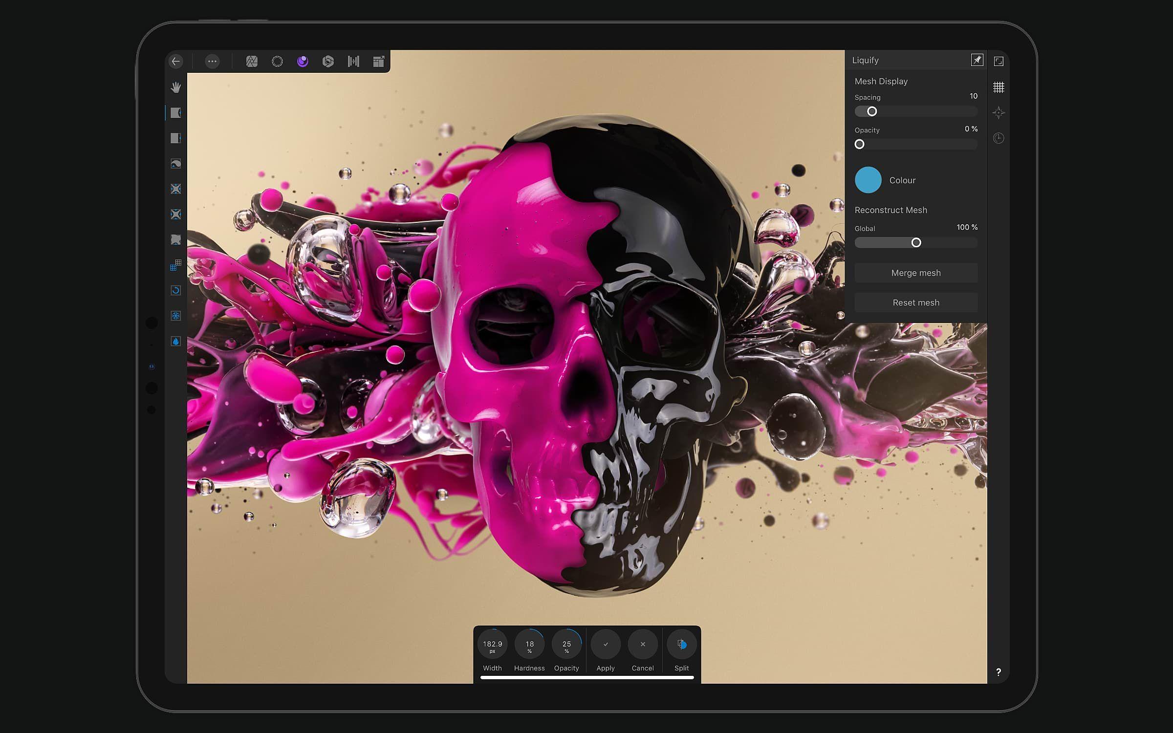 Affinity Photo (iPad) 50% korting (van €21,99 voor €10,99)