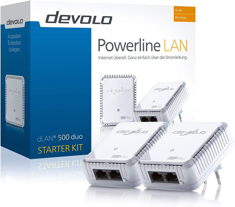 Devolo powerline dLan 500 duo pack geen wifi