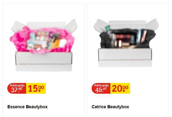 Singles Day: Beautybox Essence €15 // Catrice €20 @ Kruidvat