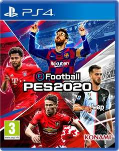 eFootball PES 2020 Standard Edition voor 29,99 (PS+)