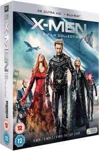 X-Men Trilogy 4K Ultra HD (Inclusief Blu-Ray) @ Zavvi
