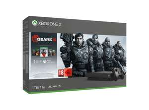MICROSOFT Xbox One X 1 TB + Gears 5 (€261,15) @ Amazon.de