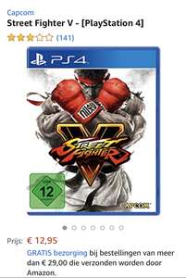 Streeft fighter V voor playstation 4