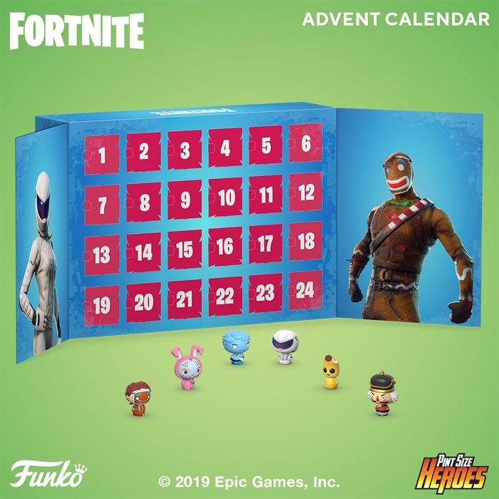 Funko Adventkalender: Fortnite 2019 voor €32,50 (45% korting) @ funkopops.nl