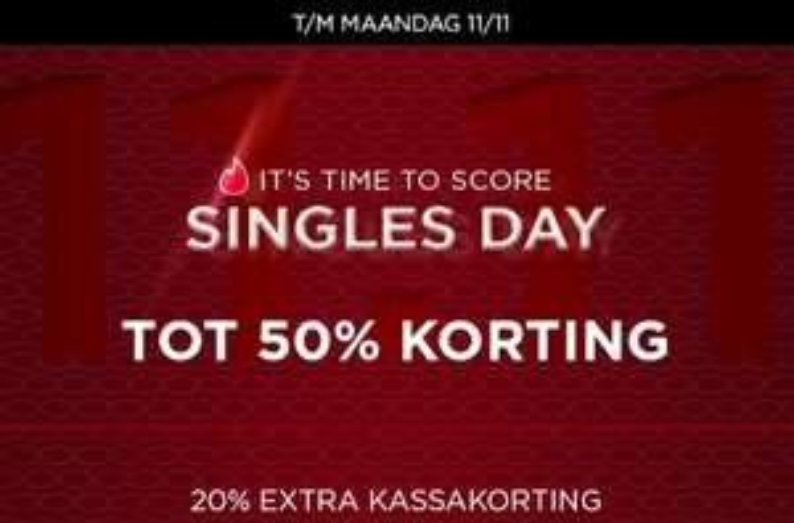Met code 20% EXTRA korting @ Score