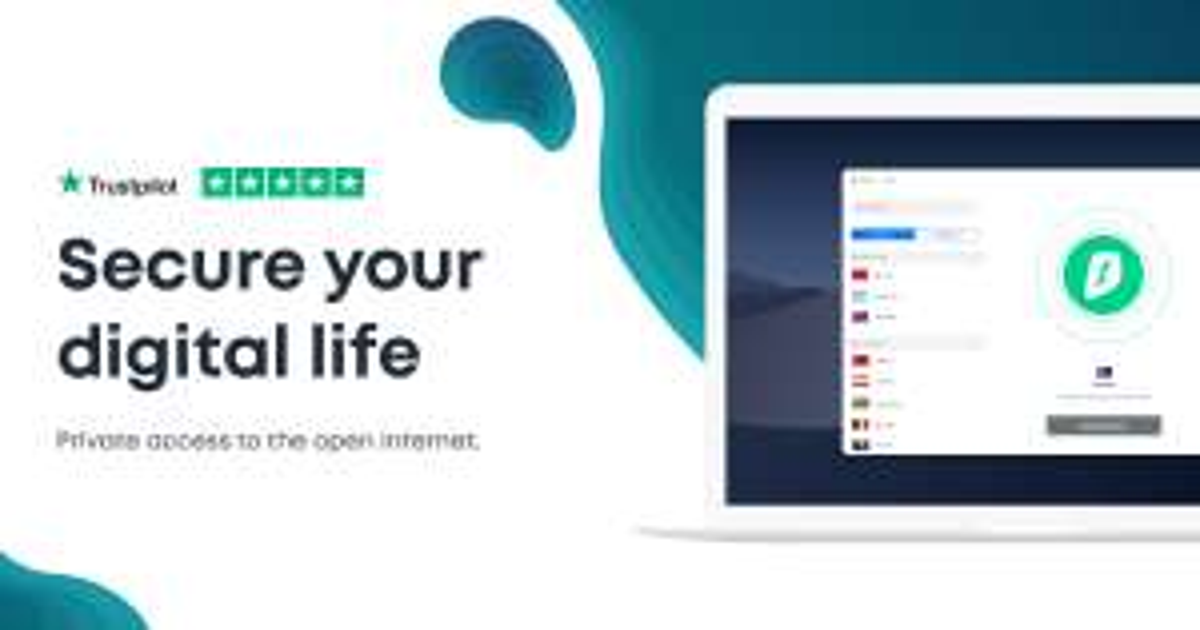 Surfshark VPN-dienst 3-jarig abonnement + 3 Monate Gratis; 40% cashback