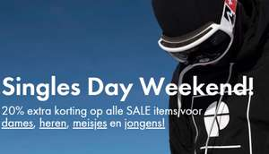 Singles Day: met code 20% extra korting @ Protest