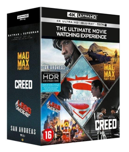 4K Ultra HD Collection Boxset (5 films/10 discs) @ Bol.com