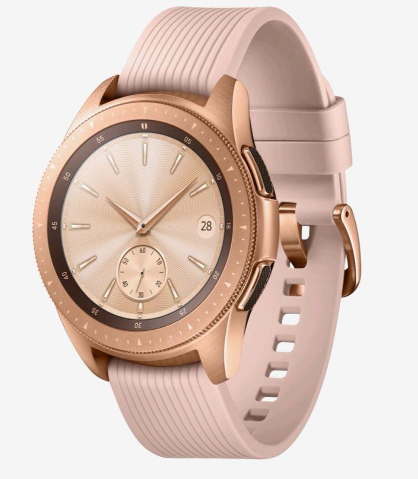 Samsung Galaxy smartwatch rose
