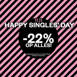 Singles Day: 22% EXTRA korting @ Maison Lab