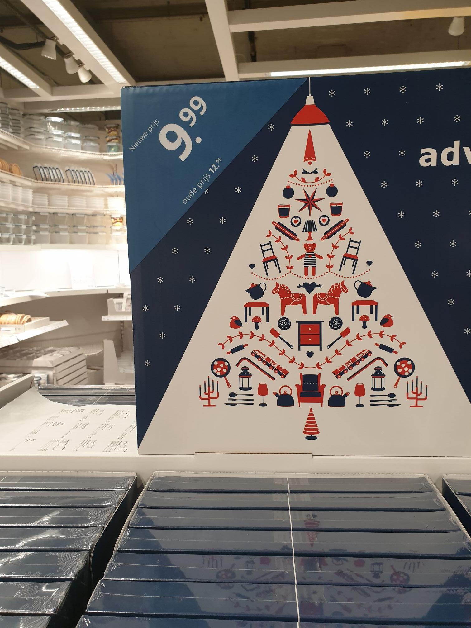Ikea Amsterdam adventkalender