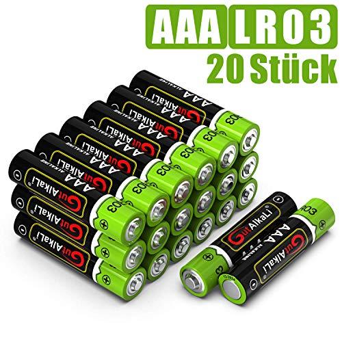 20 batterijen voor 2,50