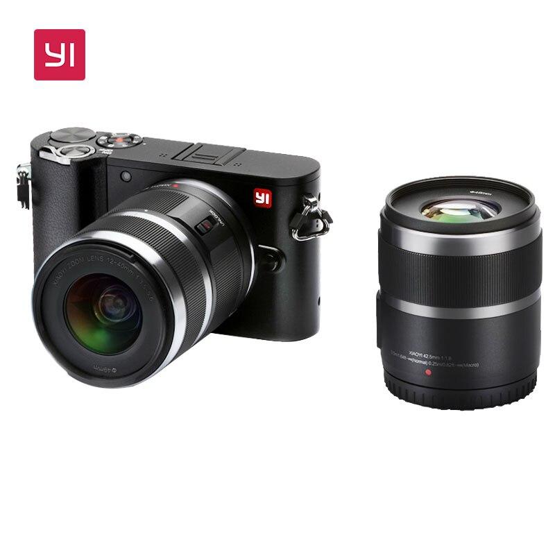 Xiaomi Yi M1 mirrorless camera met 12-40mm & 42.5mm objectief [AliExpress Deals]