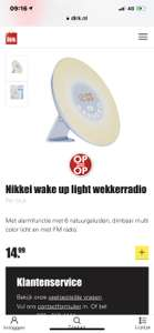 Dirk nikkei wake up light radio
