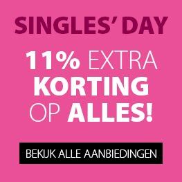 Singles Day: 11% korting op alles @ Jysk