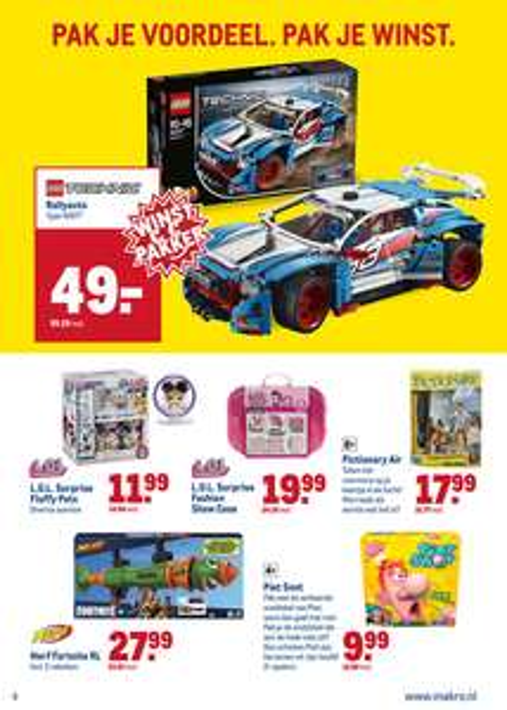 MAKRO Lego rallyauto 42077