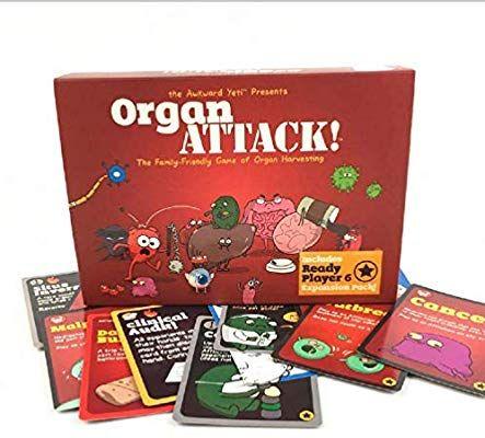 Engelstalig kaartspel Organ Attack - 19,99
