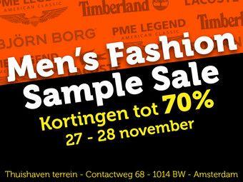 IBOOD Men's fashion sample sale. 70% korting