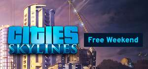 Cities Skylines Free Weekend en Sale (tot 75% korting) @ Steam