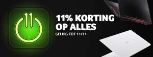 11% Singles day korting op alle laptops @ Acer store