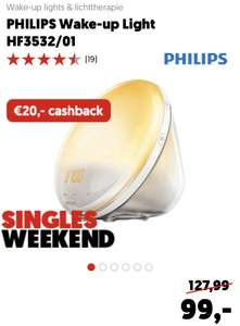 Philips wake-up light HF3532