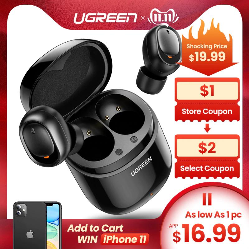 Ugreen wireless oordopjes [AliExpress Deals]