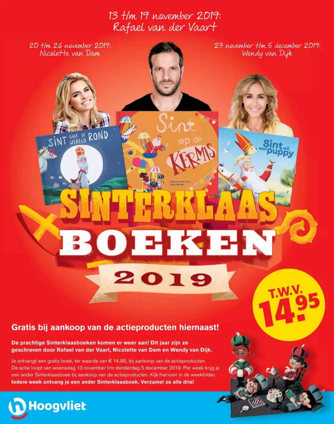 Gratis Sinterklaas boeken bij aankoop van actieproducten @ Plus, Jan Linders, Poiez & Hoogvliet