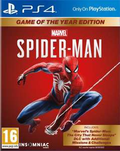 [België] PS4 Marvel Spider-Man Game of The Year Edition