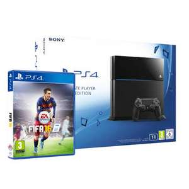 PS4 1TB + Fifa 16 voor €383,- @ Bartsmit webshop