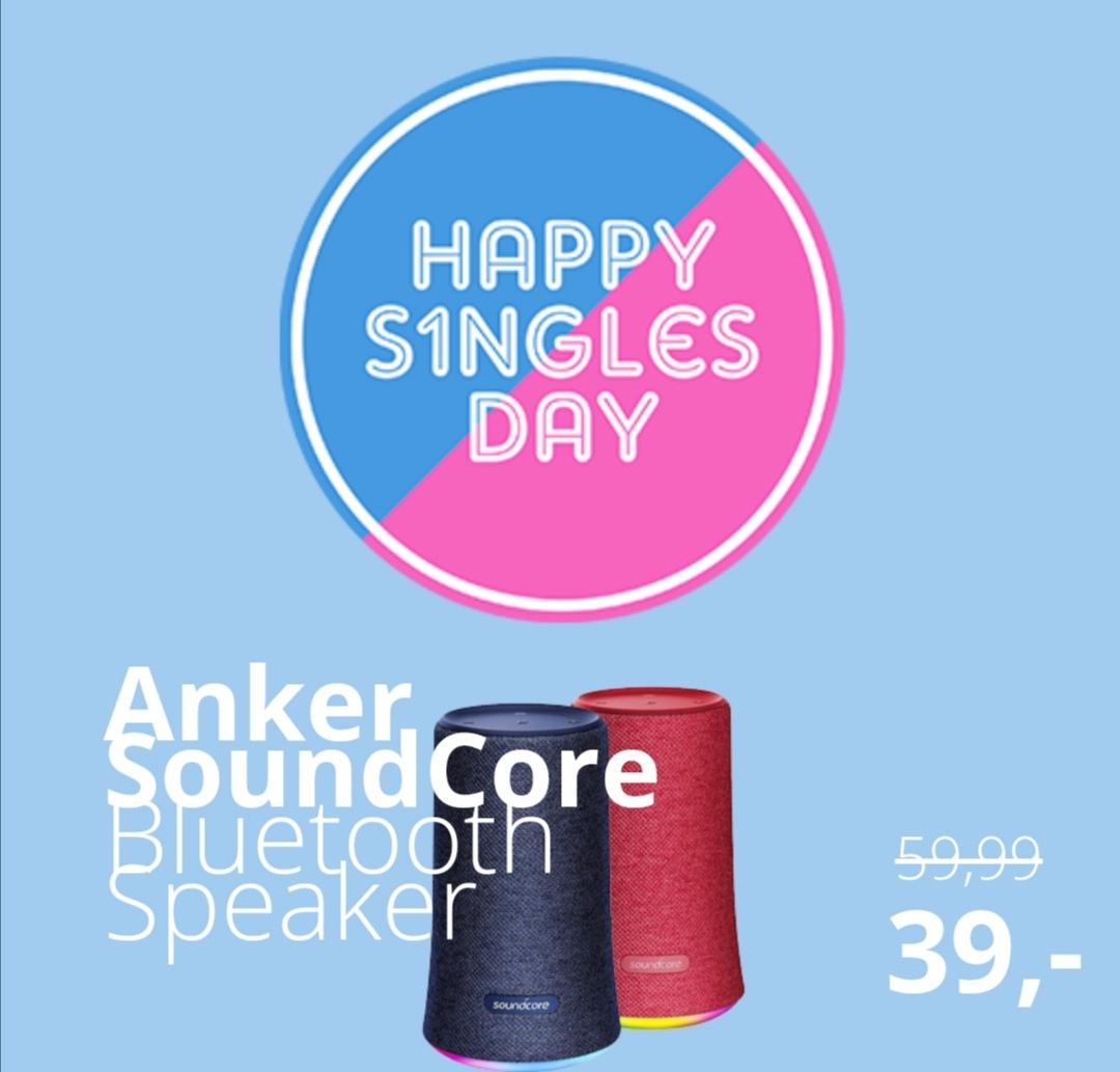 Singles Day: Anker Soundcore Flare bluetooth speaker @ Paradigit