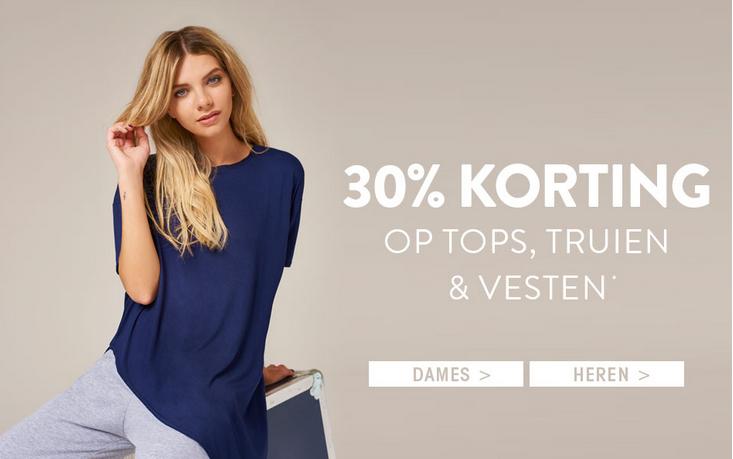 30% korting op tops, jurken, truien en vesten met code @ Boohoo