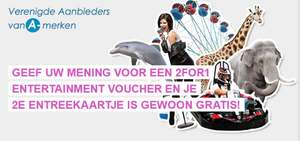 GRATIS 2FOR1 entertainment voucher @ Wij jonge ouders