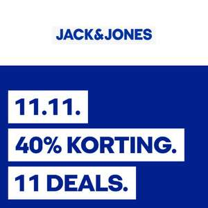 Singles Day: 11 deals 40% korting @ Jack & Jones