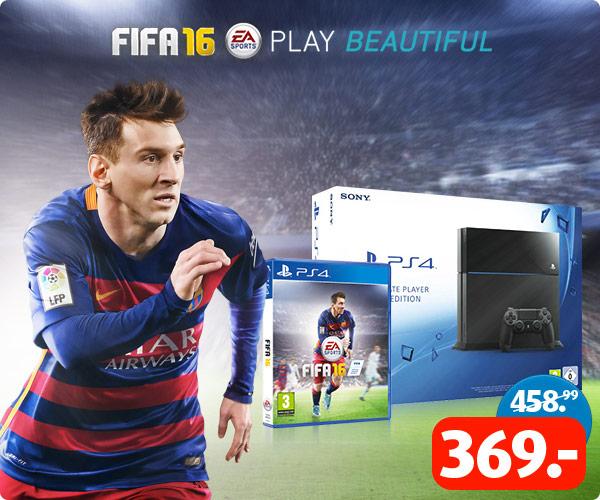 PS4 1TB + FIFA 16 voor €369,- @ Bart Smit