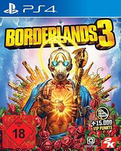 Borderlands 3 (PS4) @ Amazon.de, inclusief 15.000 VIP punten