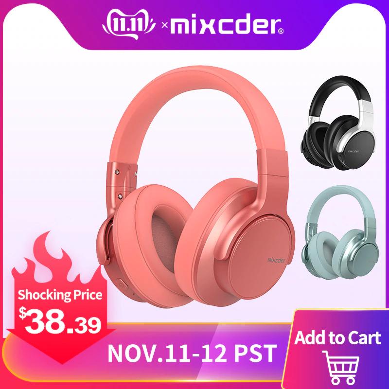 AliExpress - Mixcder E7 Wireless koptelefoon - €35.88