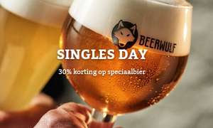 [Singles Day] Beerwulf 30% korting op 'single' flessen