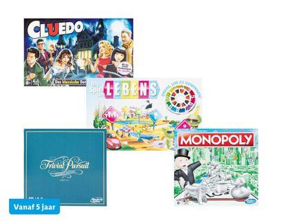 Hasbro Levensweg, Monopoly, Cluedo of Triviant bij Lidl