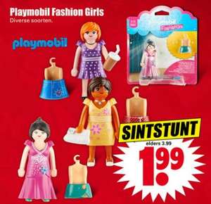 Playmobil Fashion Girls - diverse uitvoeringen @ Dirk